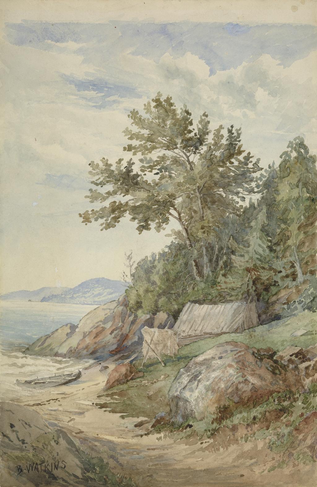 La Cabane de pêcheur, Murray Bay