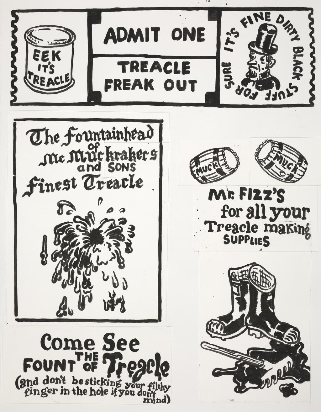 Treacle Brochure Posters : Barrels