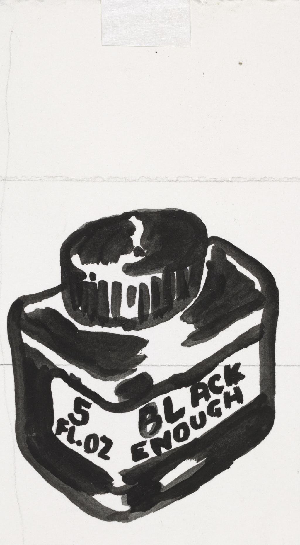Black Enough (pop out)