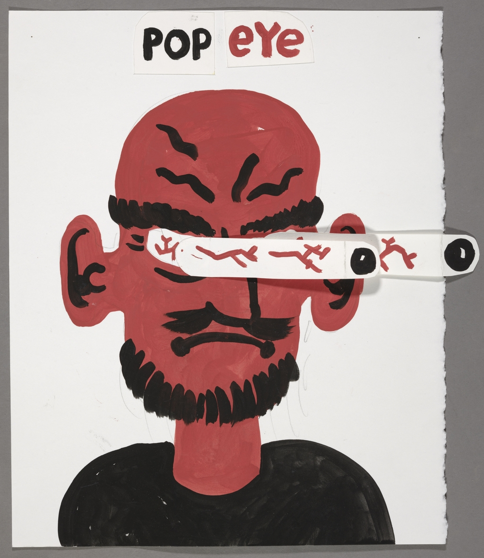 Popeye (pop eye eyes)