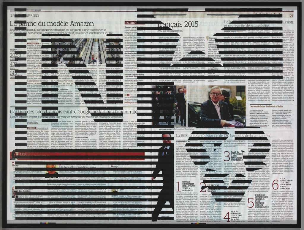 Société-écran / Le Figaro, dimanche 26 octobre 2014