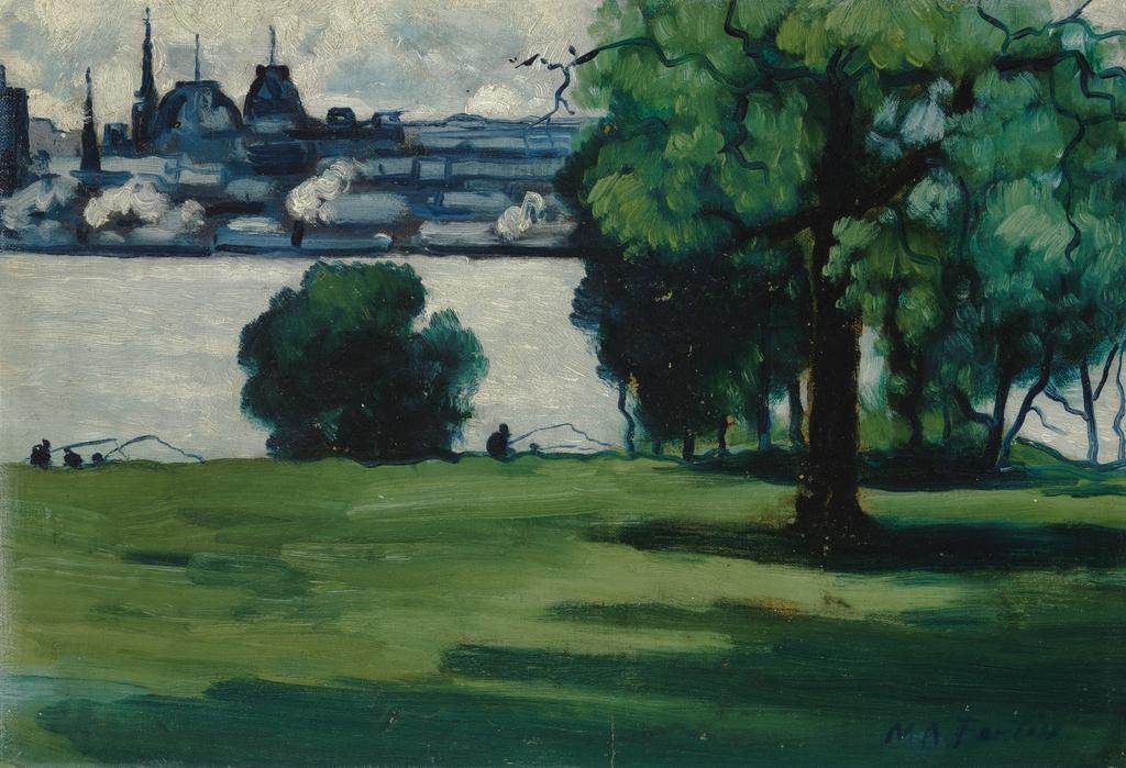 Montréal vu de l'île Sainte-Hélène