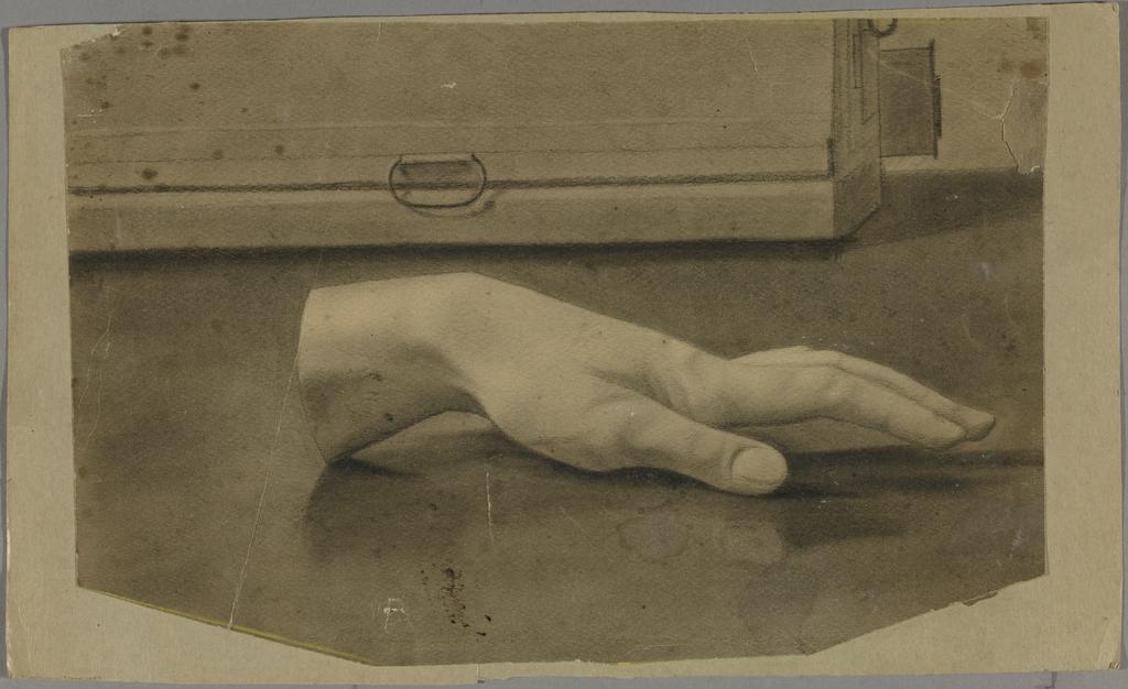 Main, d'après le plâtre