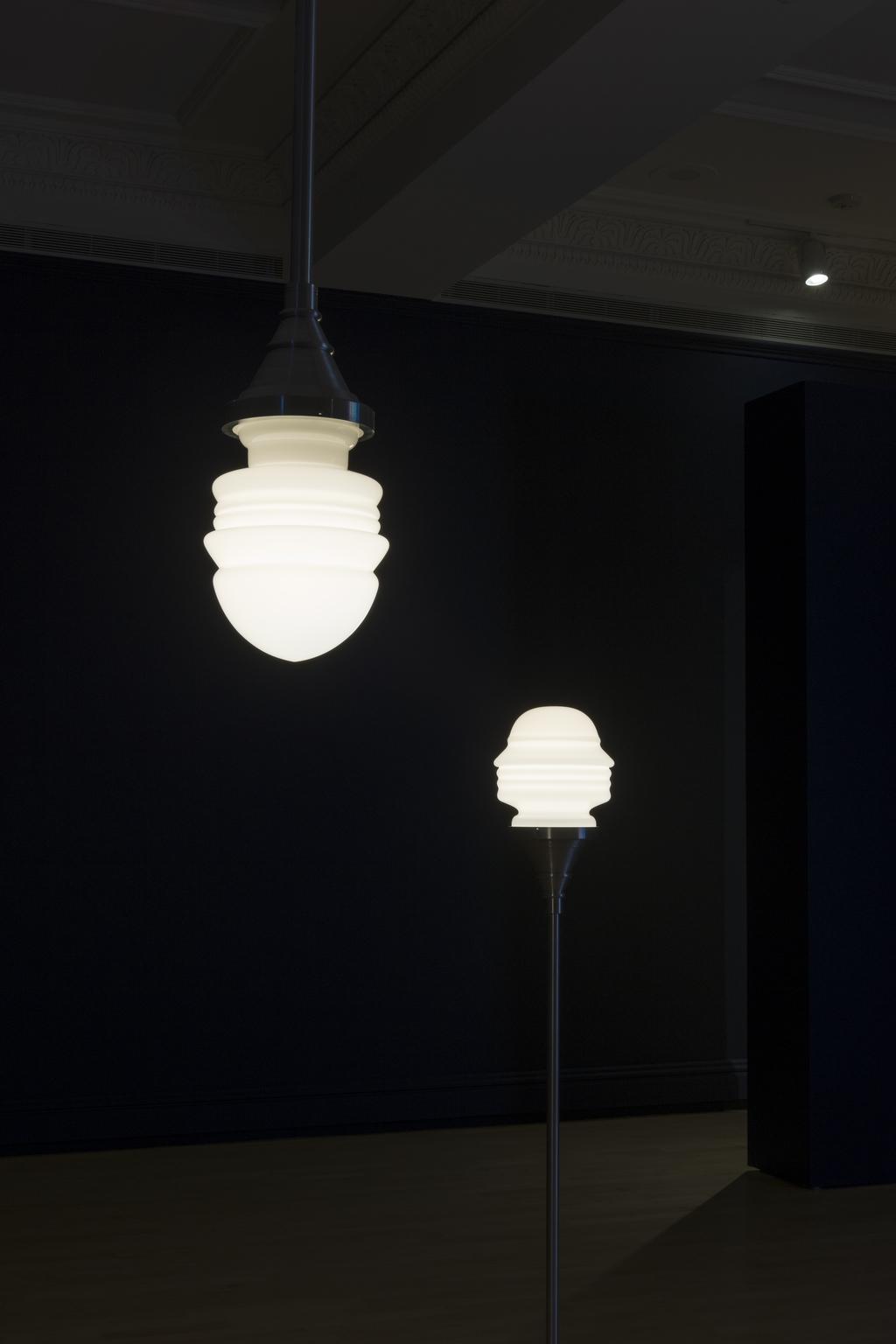 Lampes : Marinetti/Mussolini