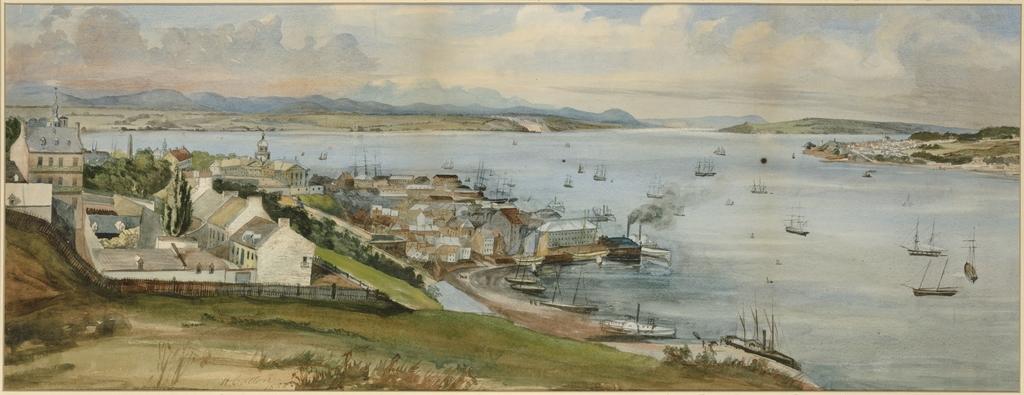 Québec et le Saint-Laurent vus de la Citadelle