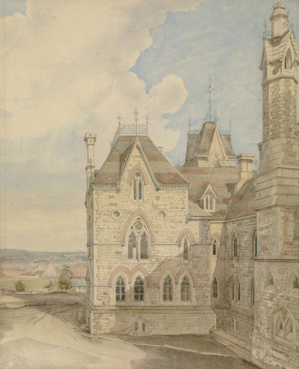 L'Aile est de l'ancien édifice du Parlement, Ottawa