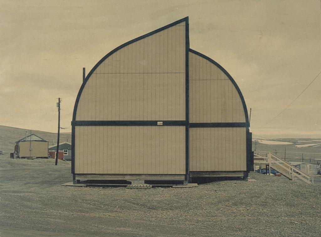 Maisons et bâtiments, de la série « Resolute Bay »