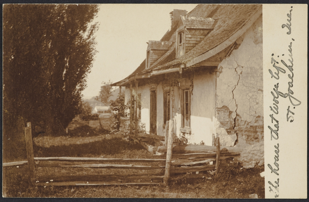 La Maison de Wolfe, Saint-Joachim