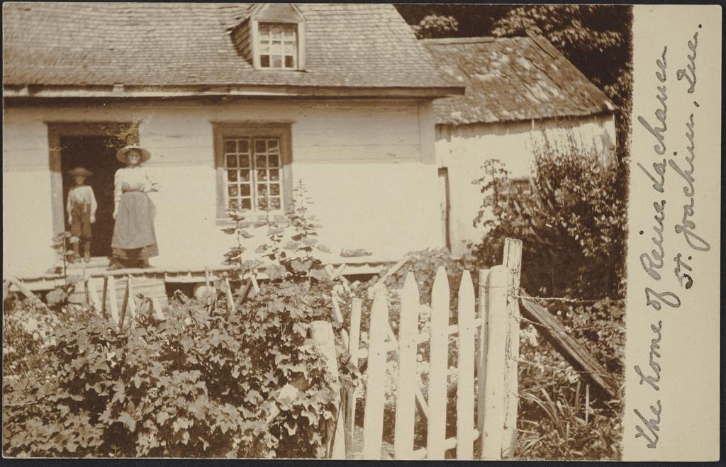La Maison de Reine Lachance, Saint-Joachim