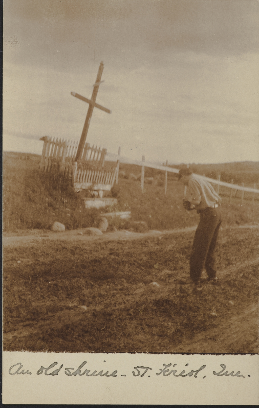 Croix de chemin, Saint-Ferréol-les-Neiges