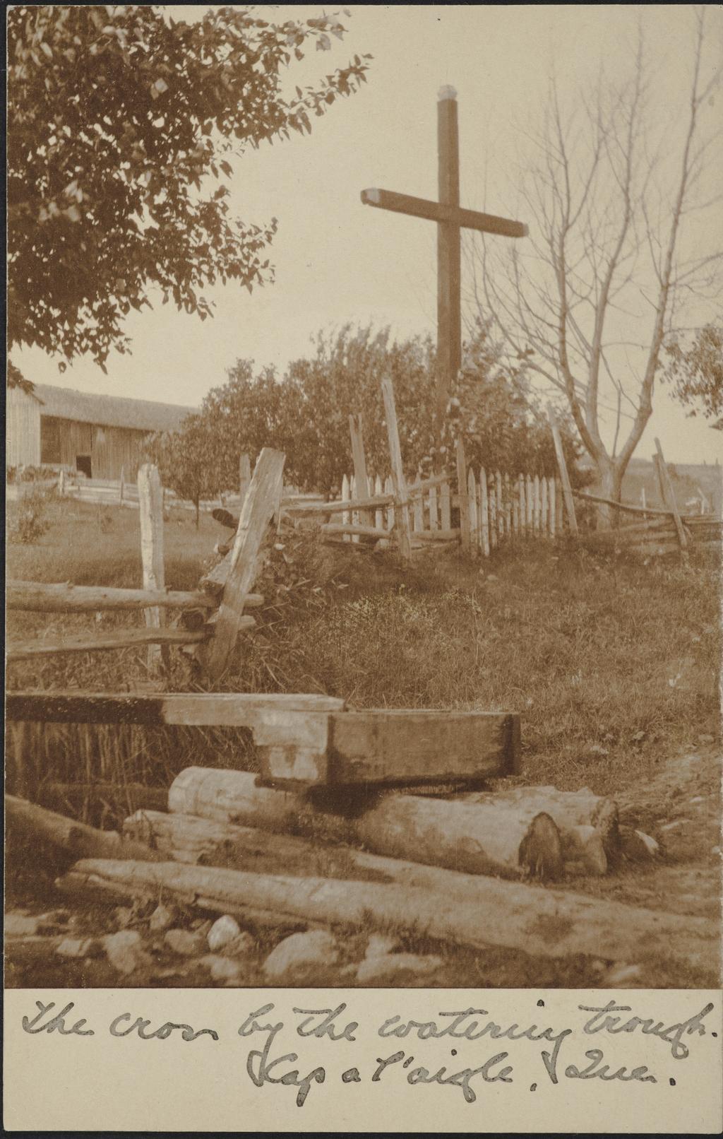 Croix de chemin, Cap-à-l'Aigle
