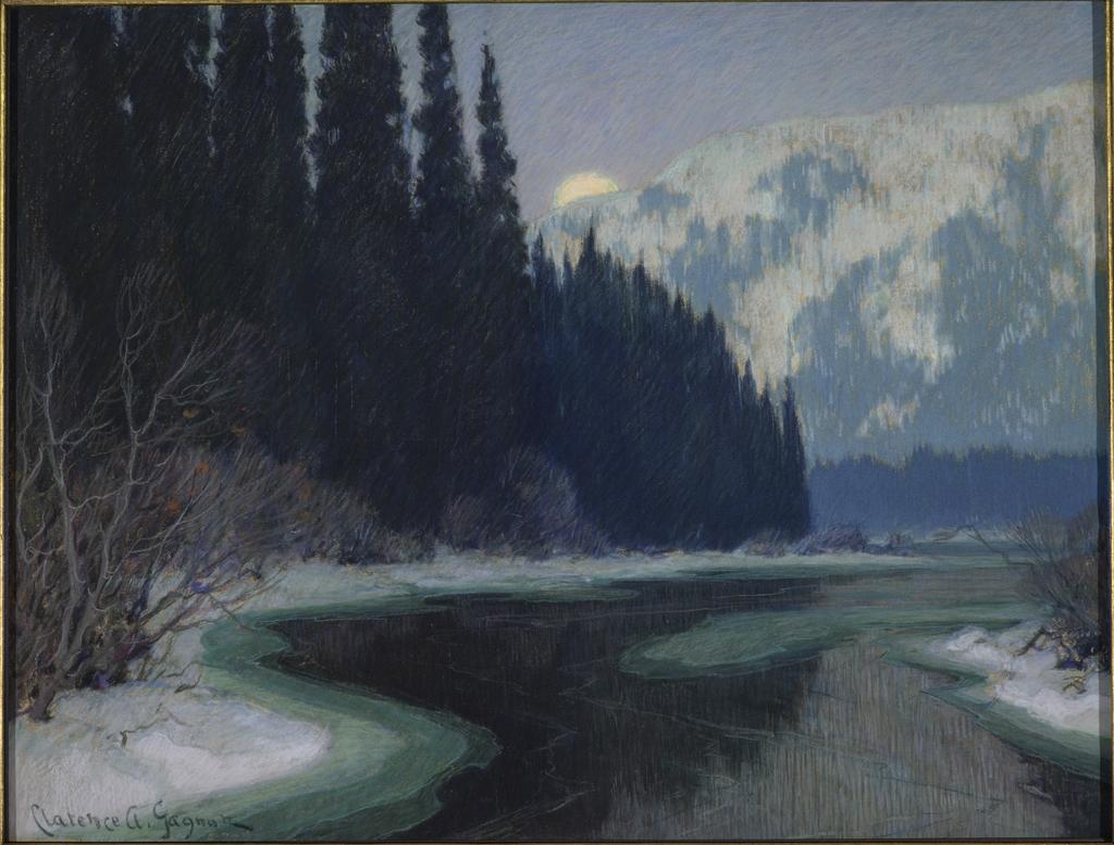 Un ruisseau silencieux du Nord