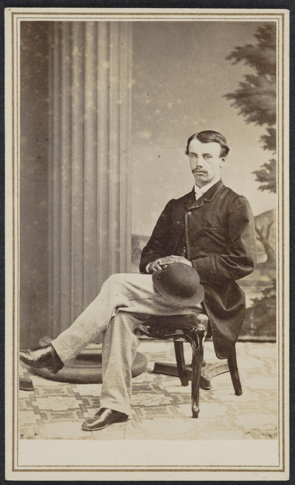 Portrait d'homme, de l'album de collection dit de Richard Alleyn