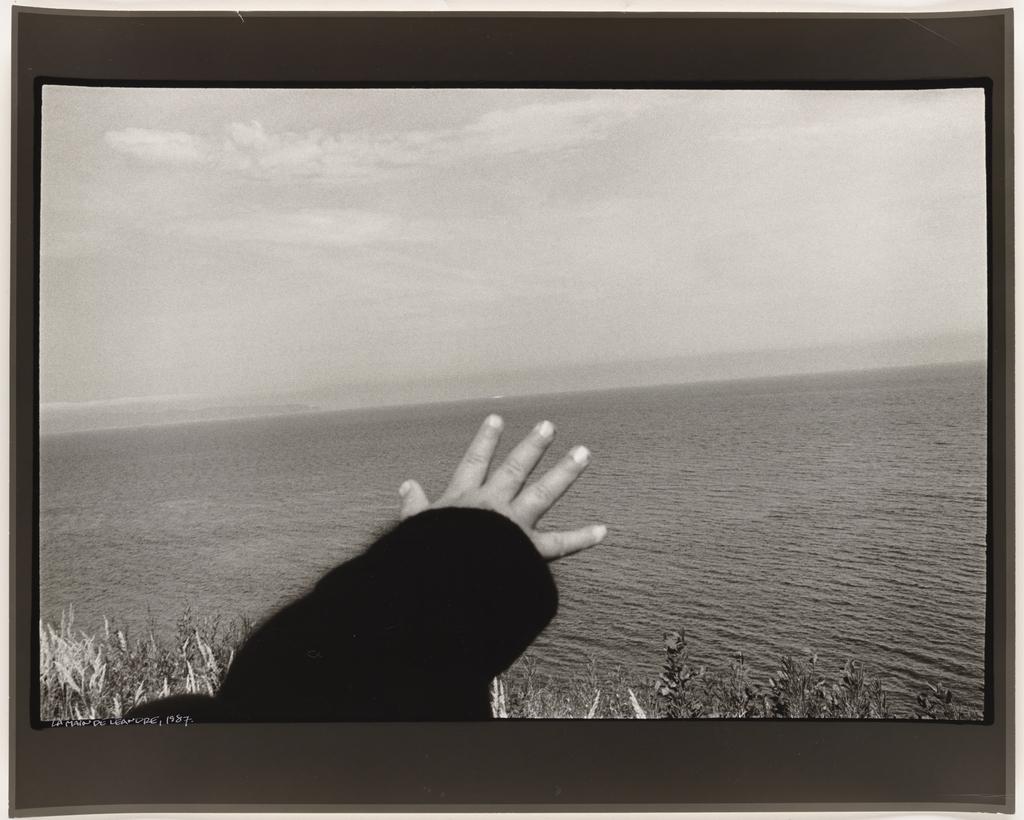 Parc Forillon, Gaspésie, 1987, de la série Les Tremblements du coeur, deuxième séquence 2/8
