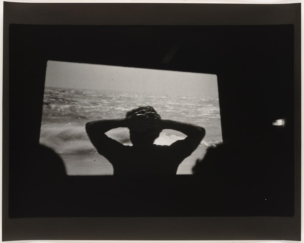 Écran cinématographique : Alain Tanner, « Dans la ville blanche », 1983, de la série Les Tremblements du coeur, deuxième séquence 3/8