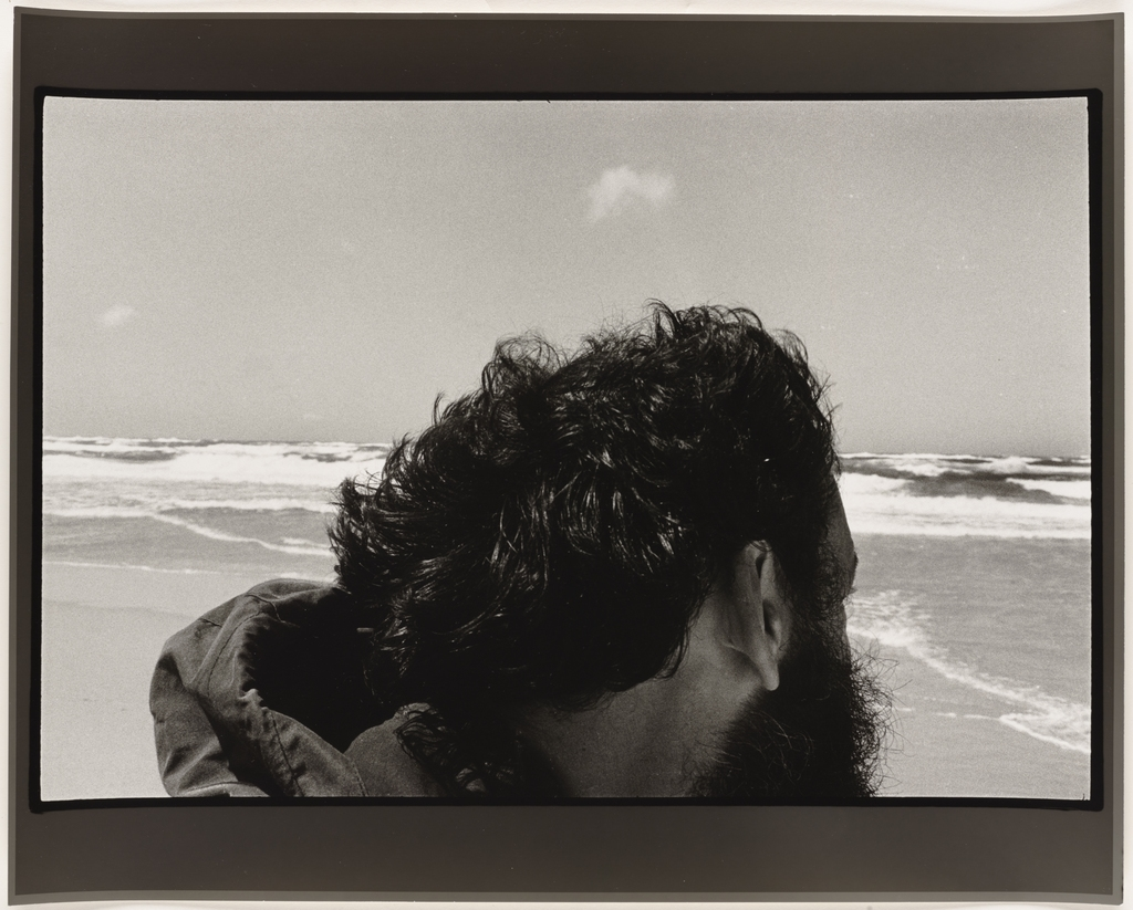 Autoportrait, îles de la Madeleine, 1981, de la série Les Tremblements du coeur, deuxième séquence 4/8