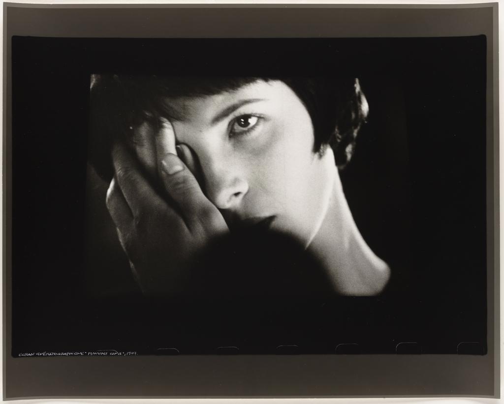 Écran cinématographique : Leos Carax, « Mauvais Sang », 1987, de la série Les Tremblements du coeur, quatrième séquence 3/8