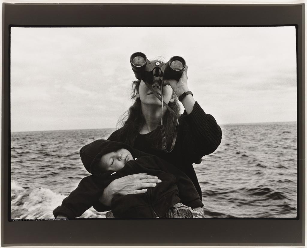 Nicole et Léandre, Île Bonaventure, 1987, de la série Les Tremblements du coeur, épilogue 1/1