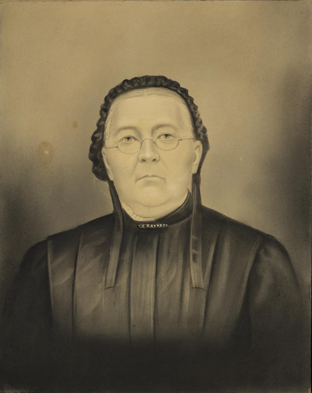 Madame Napoléon Brousseau, née Adéline Alary, soeur de l'artiste