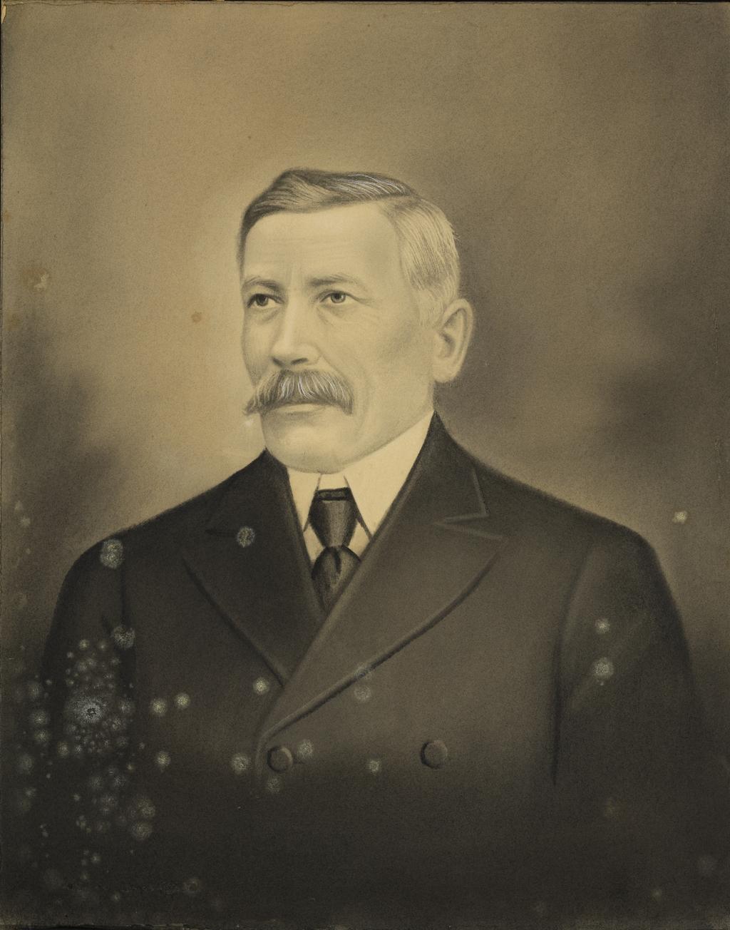 Napoléon Brousseau, beau-frère de l'artiste